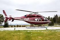 SOUKROMÝ HELIPORT PINKA u Chodové Plané splňuje evropské parametry a Úřad pro civilní letectví ČR v Praze schválil chodovoplánské dobrovolné hasiče jako předurčenou jednotku v případě nouze.