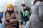 Novoroční namáčení v Jistebnici 2012.