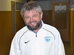 Trenér Táborska U19 Karel Musil.