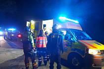 Táborská profesionální jednotka zasahovala v pátek 24. července krátce před půlnocí u nehody se zraněním cyklisty v Chýnově.