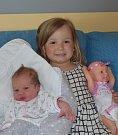 Anežka Svitáková z Chýnova. Narodila se 29. května v 16.22 hodin jako druhá dcera v rodině. Vážila 3350 gramů, měřila 50 cm a  sestřičce  Emičce jsou tři roky.