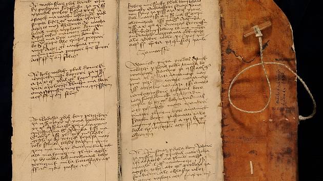 Nejstarší kniha Tábora.