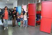 Začátek školního roku v ZŠ Helsinská Tábor.