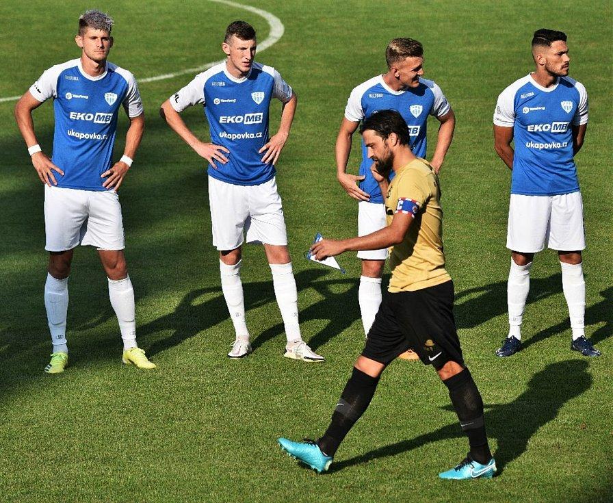 V prvním kole nového ročníku FNL podlehli fotbalisté Táborska brněnské Zbrojovce 0:1.