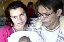 ADÉLA ZELENKOVÁ Z MLADÉ VOŽICE. Přišla na svět 24. listopadu ve 4.12 hodin s váhou 2840 g a mírou 48 cm. Doma už má dva brášky.