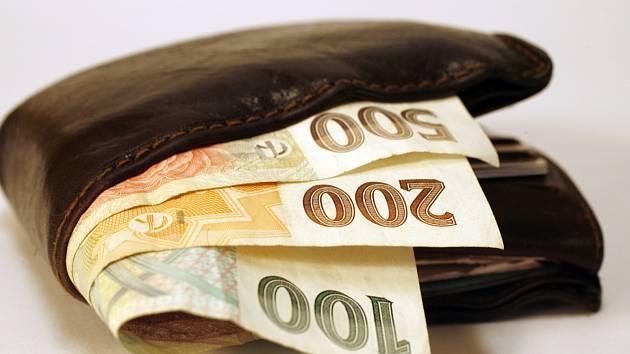 Peněženka. Ilustrační foto