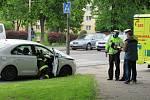 V pondělí 25. května před půl osmou ráno došlo k dopravní nehodě u přechodu pro chodce před plánskou základní školou.