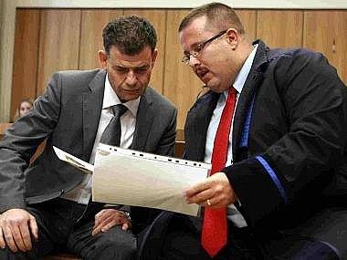 Stanislav Snášel u táborského soudu