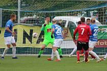 Z minulého domácího duelu Táborska proti Ústí.