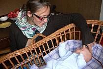 Ze všeho nejvíc se teď Tereza Horváthová cítí být matkou. Má šest dětí, z nichž nejmladší je Johanka (na snímku).