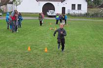 Děti do 15 let z SDH Košice běhaly v sobotu 5. října závod požárnické všestrannosti v Doubí u Tábora.