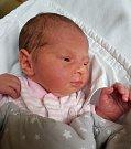 Rozálie Čechová z Lukavce. Narodila se 6. října ve 4.31 hodin s váhou 2960 gramů a mírou 47 cm. Doma už má téměř tříletého brášku Huberta.