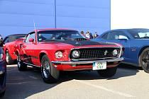 V Táboře si dali sraz majitelé automobilů Ford Mustang.