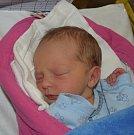 Vítek Hradílek z Černovic. Prvorozený syn rodičů Lenky a Petra přišel na svět 28. listopadu v 8.17 hodin. Ponarození vážil 3200 gramů.