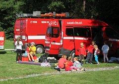 Mladí hasiči změřili síly v Bezděčíně.