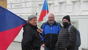 Demonstrace proti vládním nařízením spojeným s covid-19