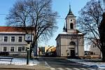 Kostel v Sezimově Ústí.