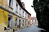 Domy číslo 179 a 180 v centru Tábora.