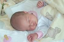 TEREZA KLEČACKÁ z TŘEBĚJIC. Narodila se 5. srpna v 10.44 hodin. Vážila 3280 g a měřila 52 cm. Marie má bratra Honzíka (3).