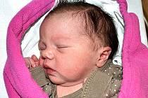 JULIE KAFKOVÁ SE STARÉHO SEDLA. Narodila se 4. srpna v 8.11 hodin s váhou 3570 g. Je prvním dítětem rodičů Lucie a Stanislava.