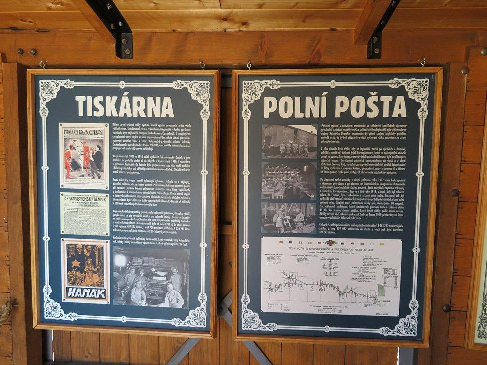Putovní muzeum od Československé obce legionářské je věrnou replikou legionářského vlaku z období let 1918–1920. Legiovlak poprvé zavítal i do Bechyně a zůstane do neděle 20. června.