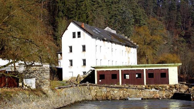 Benešův mlýn v Táboře.
