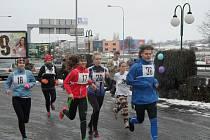 Rekreační závod na 1 kilometr.