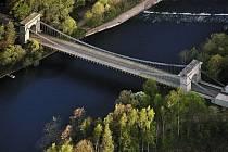 Skvostný Stádlecký most.