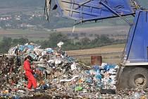Právě díky skládce komunálního odpadu platí Želečští jedny z nejnižších poplatků za svoz odpadu.