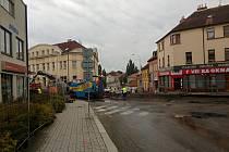 Rekonstrukce Budějovické ulice. Ilustrační foto.