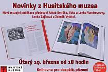 Publikace Husitského muzea poznáte v přízemí městské knihovny.