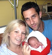 JULIE HAVLOVÁ Z TÁBORA. Prvorozené  dcery se rodiče Helena a David dočkali 28. srpna v 9.45 hodin. Malá Julie po narození vážila 2710 g.