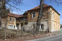 Bývalá letní restaurace byla první na příjezdové cestě do Tábora.