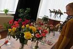 Obrazy lze vidět do 4. října, kvetoucí růže pouze do 10. září.