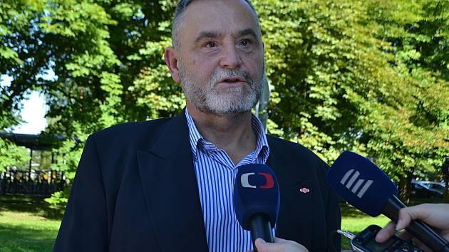 Generální ředitel Kovosvitu Blahoslav Fajmon.