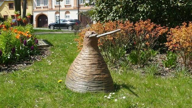 V Bechyni uvidíte keramické plastiky studentů keramického oboru SUPŠ Bechyně. Druhý ročník trvá do 30. září.