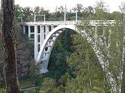 Most v Bechyni.
