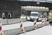 V Táboře začíná výměna mostu. Zkomplikuje dopravu.