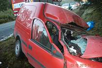Tragická nehoda u Drhovic