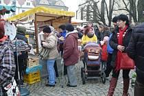 Adventní trh v Táboře je otevřený do 18 hodin