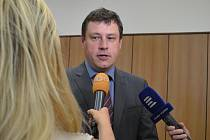 Předseda senátu Krajského soudu Tábor Petr Černý.