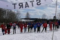 Běžkařské závody v Jistebnici. Ilustrační foto.