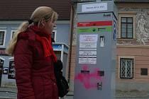 """Proti placení lidi nic nenamítají. Parkovné stálo jen 10 korun za hodinu nebo 300 korun ročně. """"Někomu to přišlo možná moc,"""" říká ironicky Jana Zítková."""