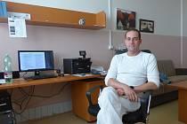 Primář Neurologického oddělení Nemocnice Tábor David Hoza.