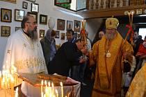 Výročí vysvěcení pravoslavného kostela v Táboře.