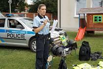 Předškoláci si užili den s policií.