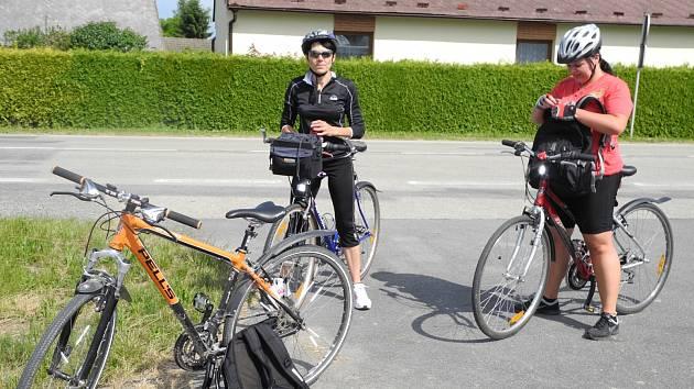 Ilustrační foto. Cyklisté.