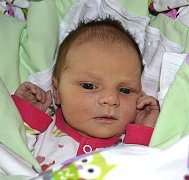 ELIŠKA PETERKOVÁ Z TÁBORA. Prvorozená dcera Šárky a Josefa přišla na svět 6. června v 6.21 hodin. Vážila 3490 g a měřila 52 cm.
