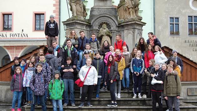 Žáci si užili výměnný pobyt.