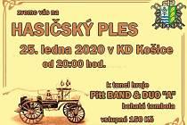 Hasičský ples SDH Košice